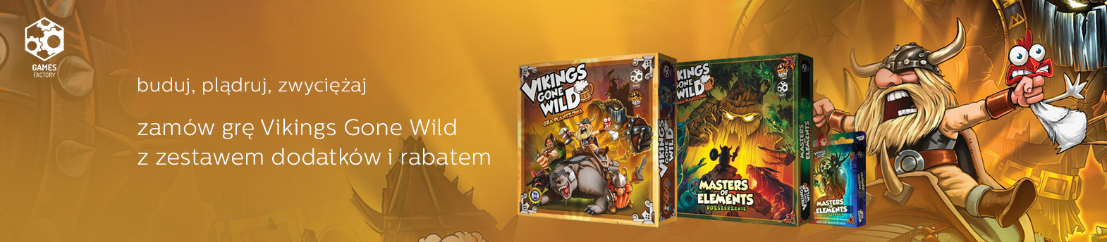 Vikings Gone Wild druga edycja w promocji