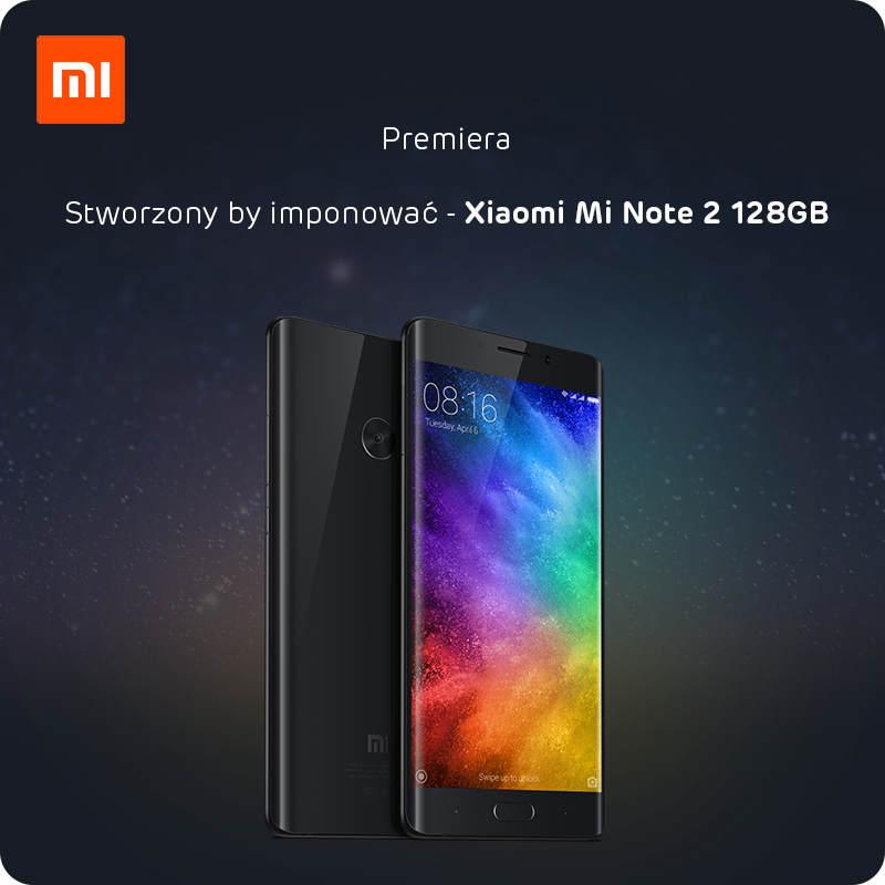 premiera Xiaomi Mi Note 2