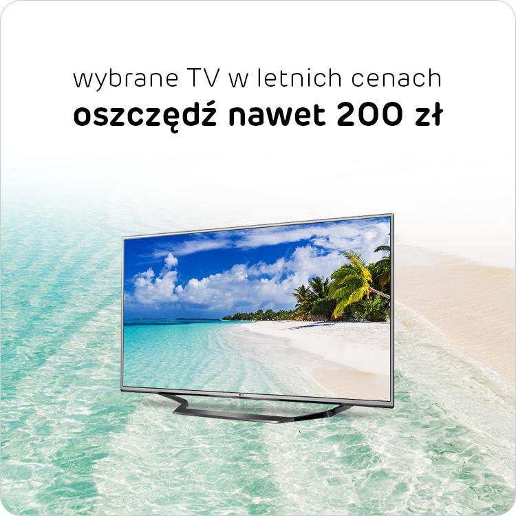 Letnia promocja na wybrane TV w x-kom, do 200 zł taniej