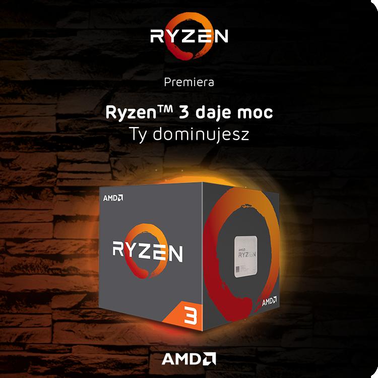 Procesory AMD Ryzen 3 1300X i AMD Ryzen 3 1200