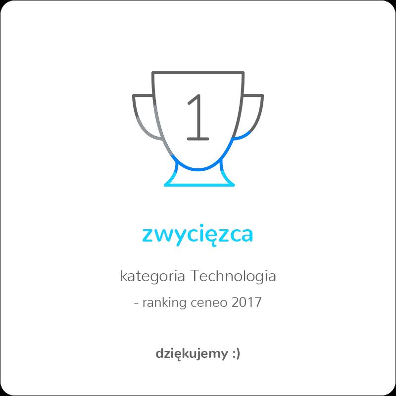 Zwycięzca rankingu Ceneo 2017 w kategorii Technologia