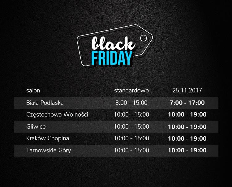 Z Okazji Black Friday 2017 Czesc Salonow X Kom Pracuje Dluzej X Kom