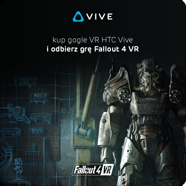 Gra Fallout 4 VR w prezencie z HTC Vive