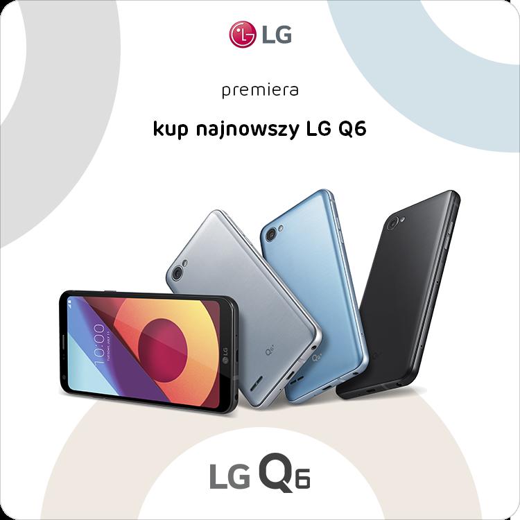 LG Q6 przedsprzedaż