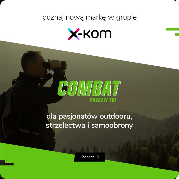 combat - nowa marka w grupie x-kom