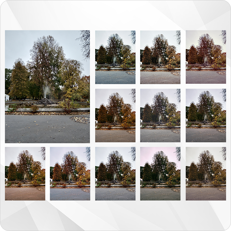 zdjęcie krajobrazowe z filtrami Xiaomi Redmi 6A