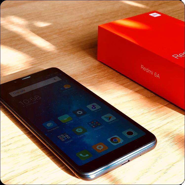 recenzja Xiaomi Redmi 6A