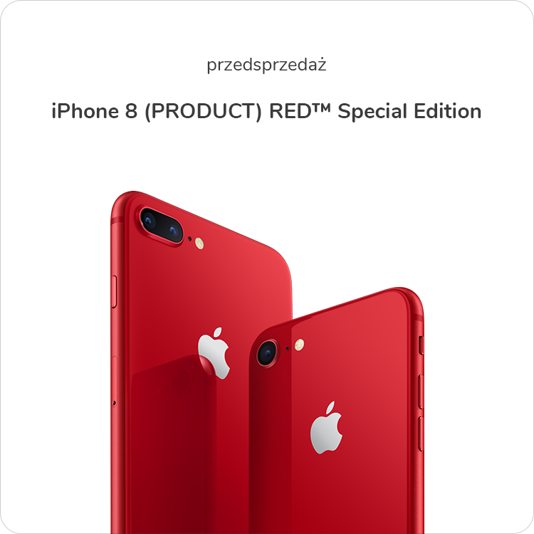 iPhone 8 Product RED Special Edition sklep