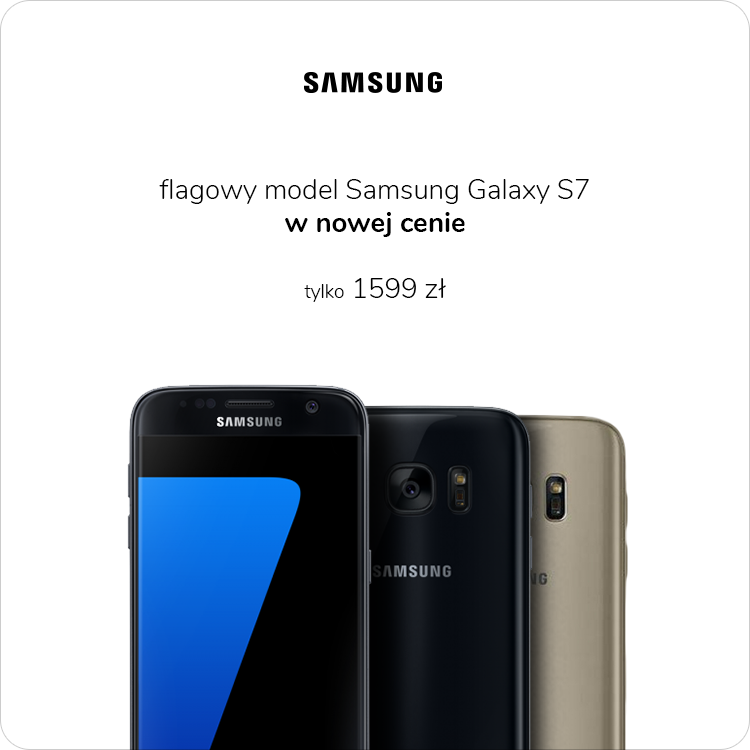 Samsung Galaxy S7 taniej o 200 zł