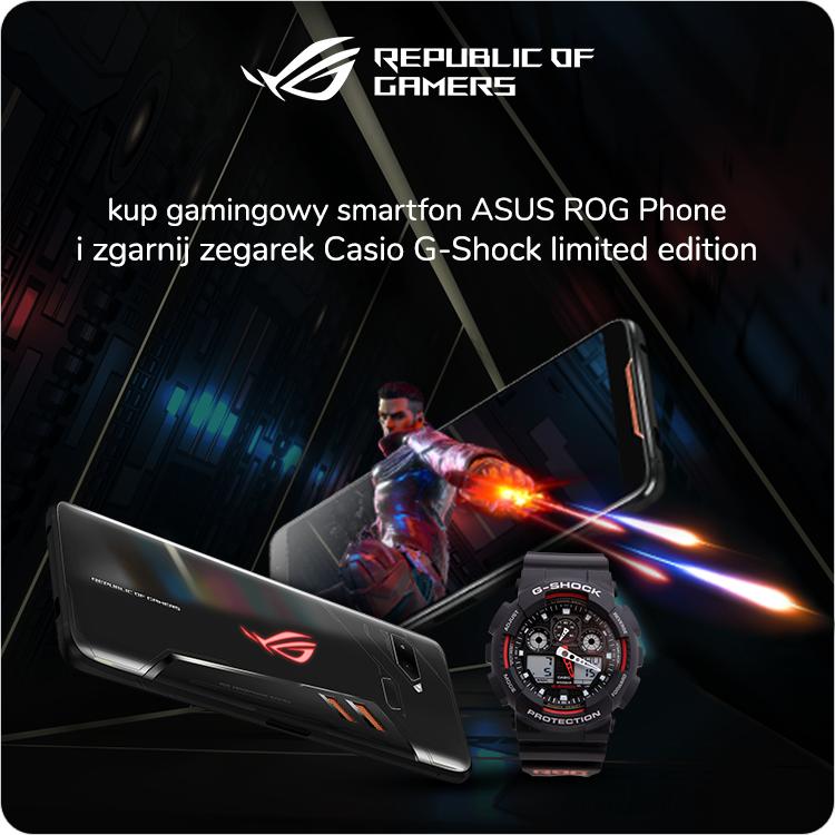 Premiera Asus Rog Phone z Casio-G Shock w prezencie