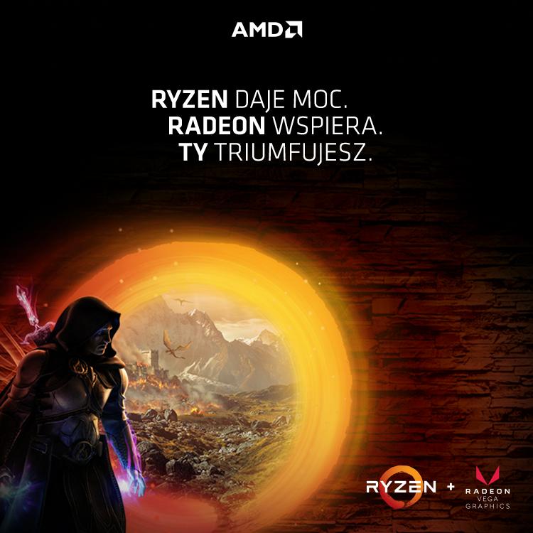 AMD Ryzen z grafiką Radeon RX Vega