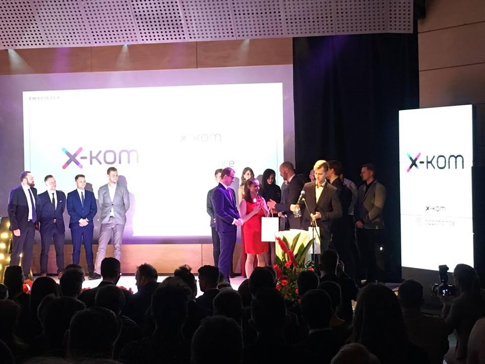 aplikacja x-kom 1. miejsce w Mobile Trends Awards 2017