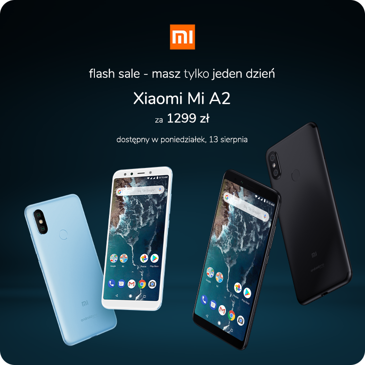 Xiaomi Mi A2 sklep flash sale