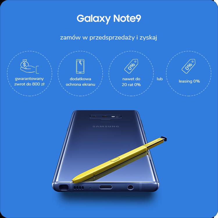 Samsung Galaxy Note 9 sklep