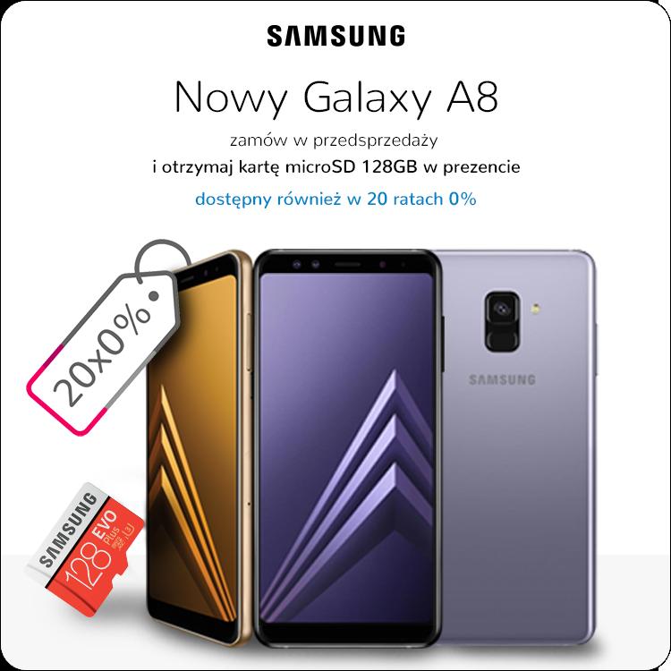 Samsung Galaxy A8 sklep przedsprzedaż, raty 0%