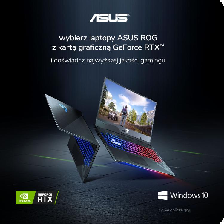 Laptop ASUS z NVIDIA RTX sklep