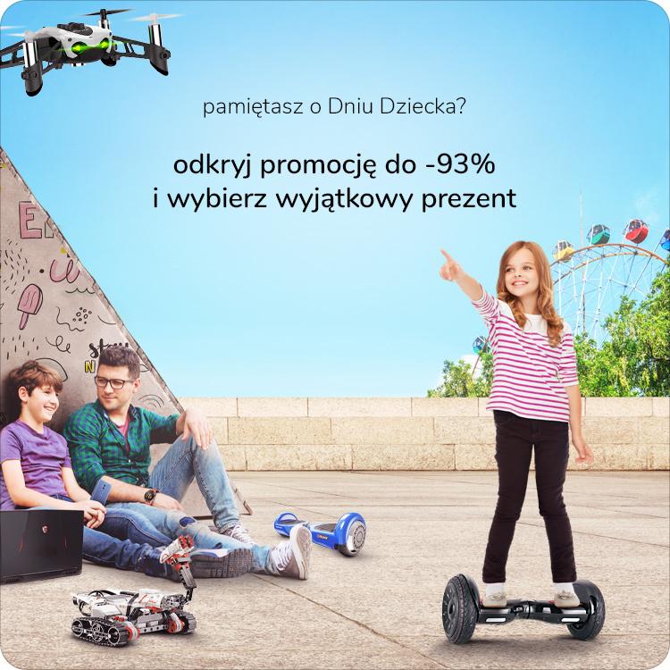 Dzień dziecka promocja na prezenty