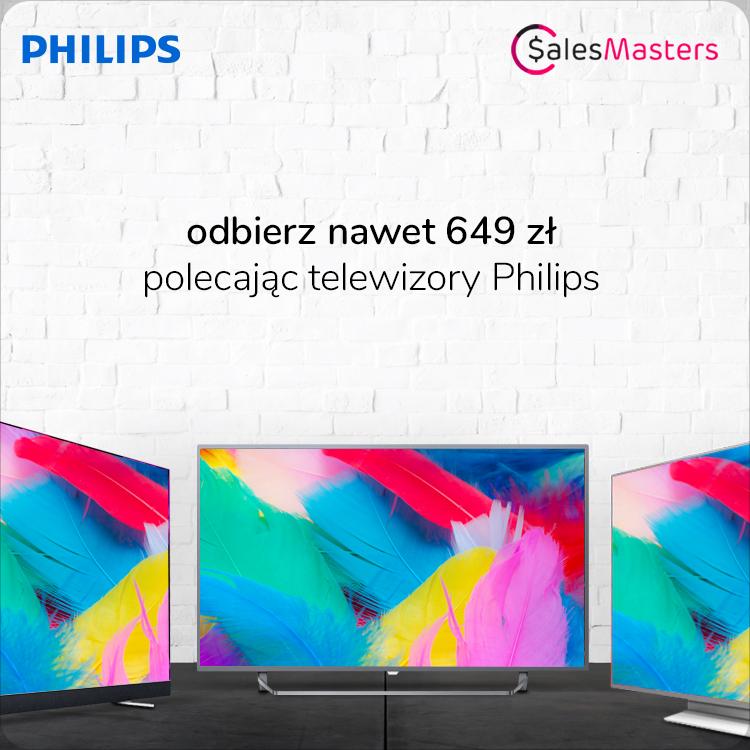 Promocja Philips TV salesmasters x-kom