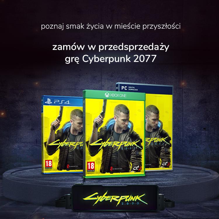 Przedsprzedaż gry Cyberpunk 2077 sklep