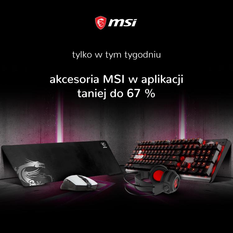 Promocja na urządzenia MSI
