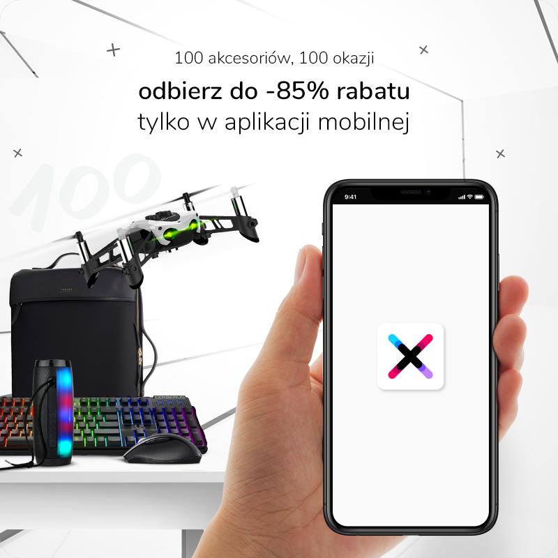 promocja 100 akcesoriow aplikacja