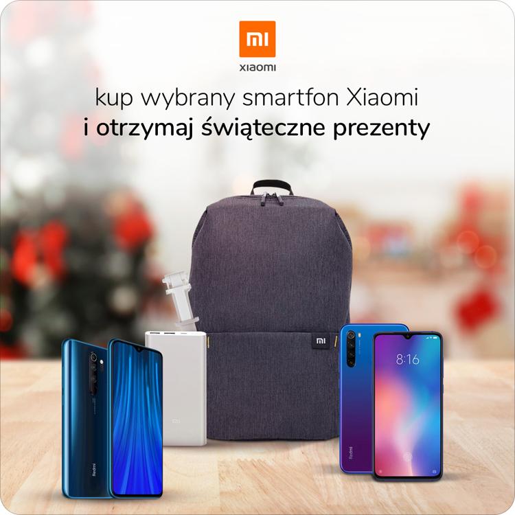 Promocja świąteczna na smartfony Xiaomi