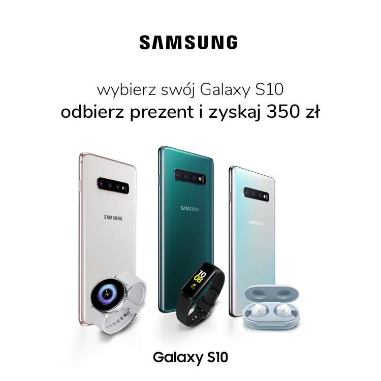 Promocja Samsung Galaxy S10
