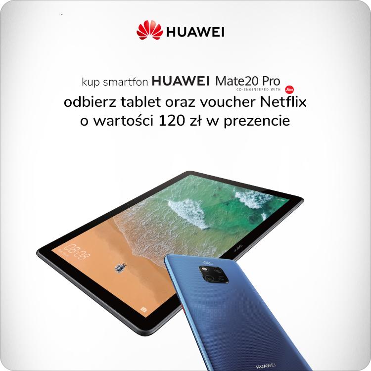 Promocja Huawei z pakietem Netflix
