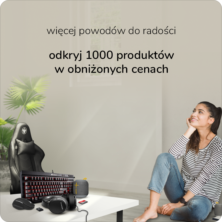 1000x10 promocja akcesoria x-kom