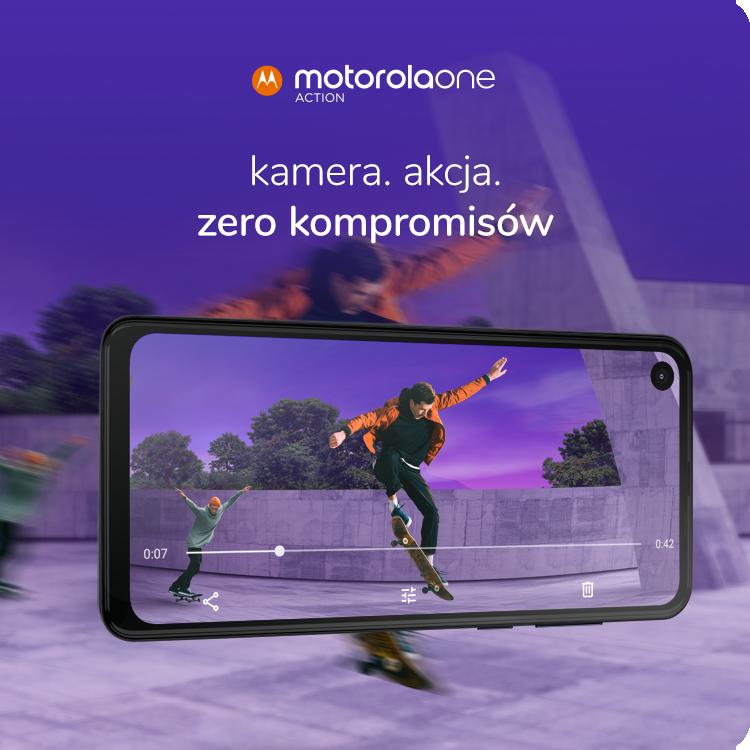 Motorola One Action premiera