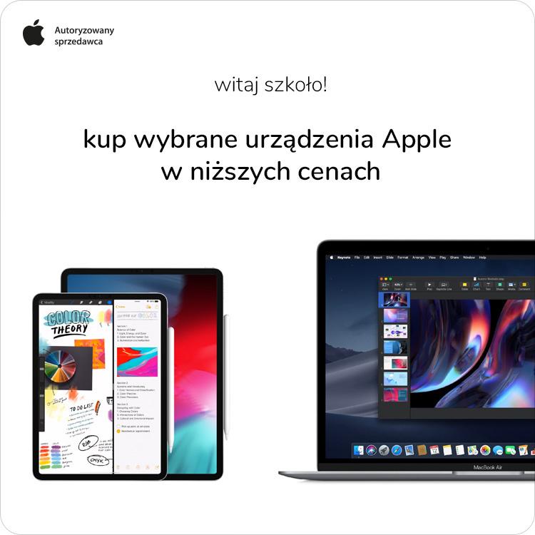 wybrane urządzenia apple taniej w x-kom
