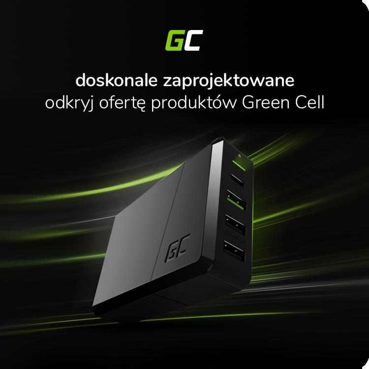 Baterie, ładowarki, zasilacze Green Cell