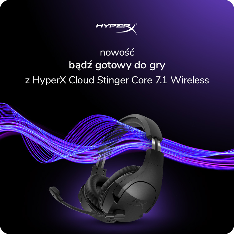 hyperx cloud stinger core 7.1 w x-kom