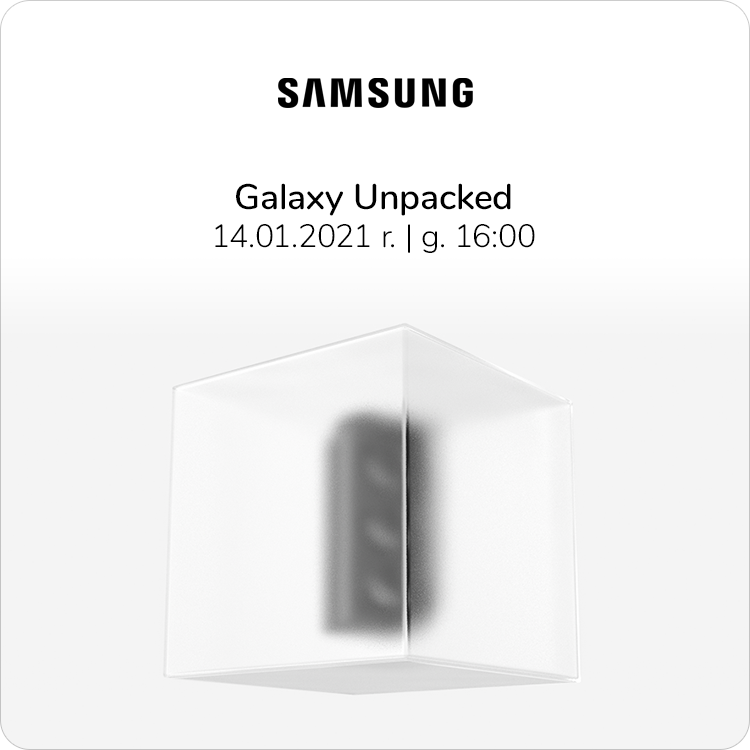 Galaxy Unpacked styczeń 2021