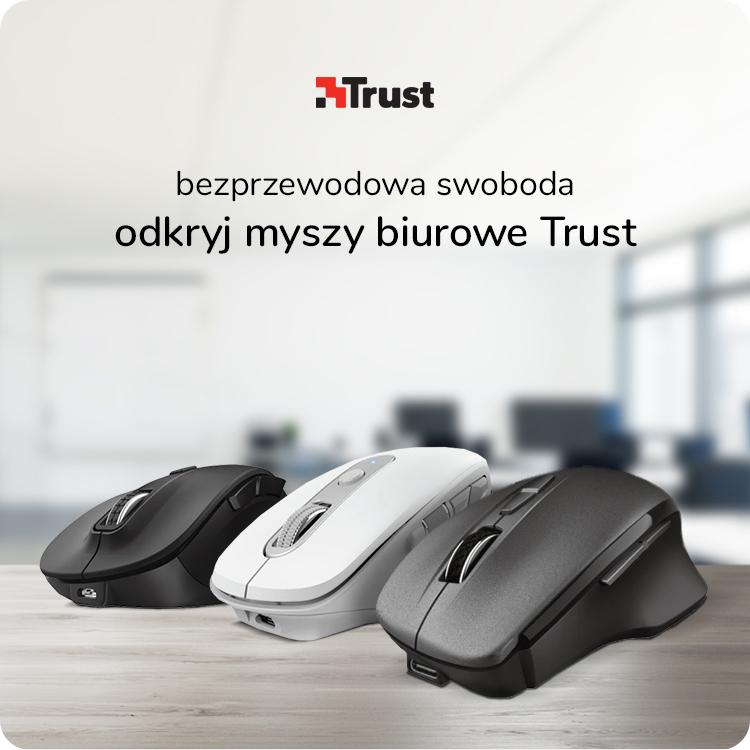 myszy biurowe Trust