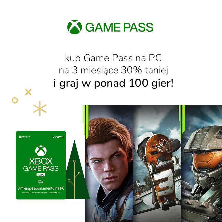 Game Pass na trzy miesiące z rabatem