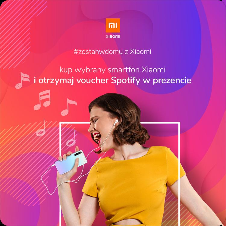 Promocja Xiaomi i Spotify