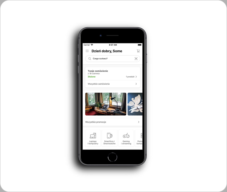 Aplikacja x-kom iOS