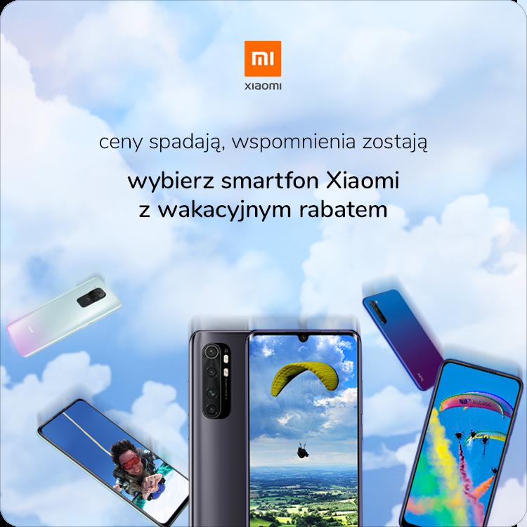 wakacyjna promocja Xiaomi