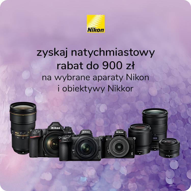 Promocja od Nikon - rabat na wybrane produkty