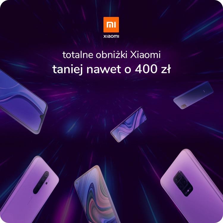 Promocja w x-kom - wybrane smartfony od Xiaomi do 400 zł taniej