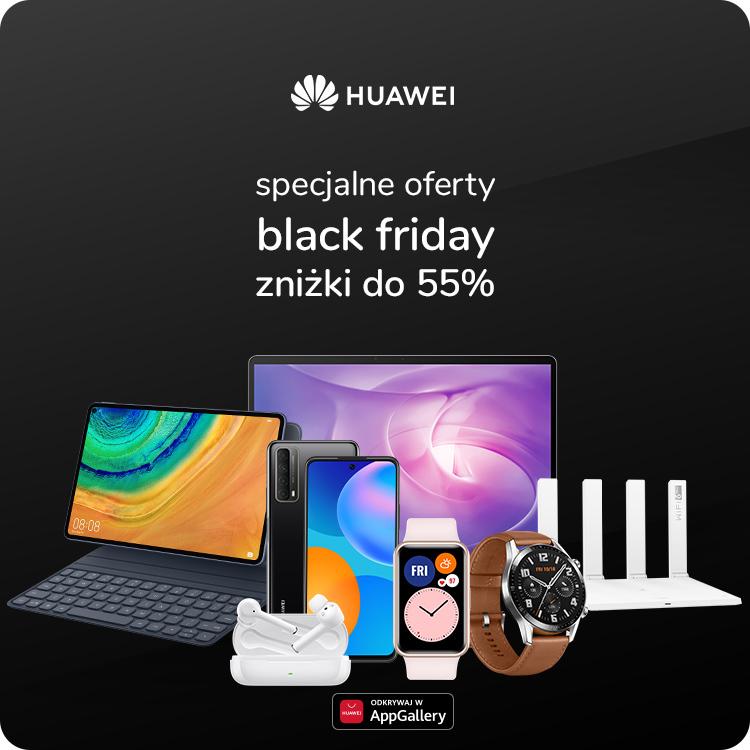specjalna oferta black friday Huawei