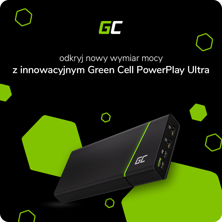 Powerbank PowerPlay Ultra Green Cell