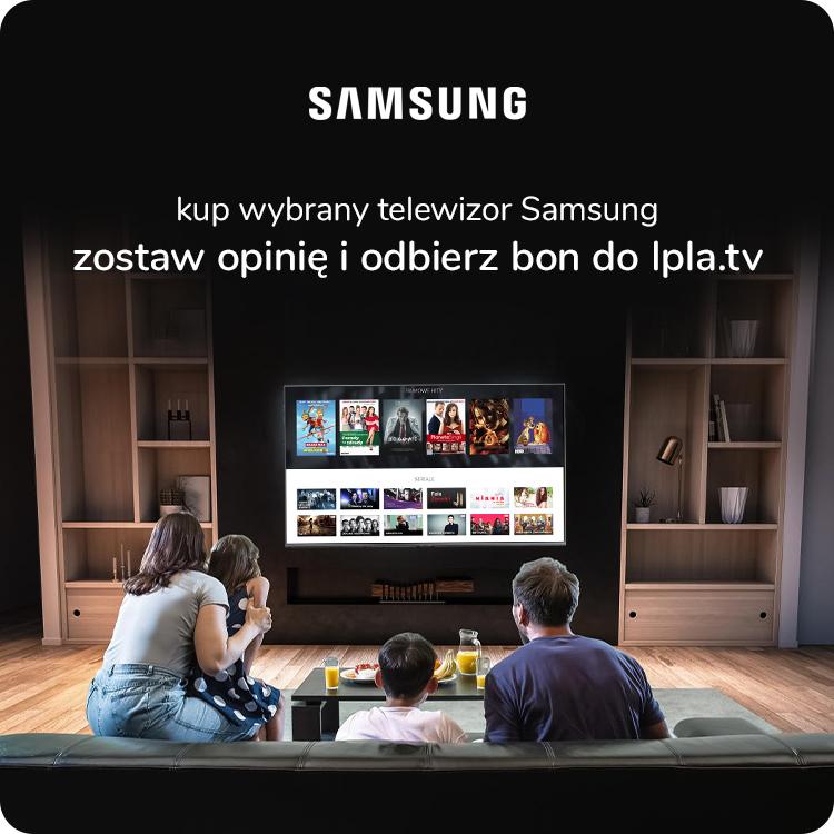 Telewizory Samsung z Ipla.tv w prezencie