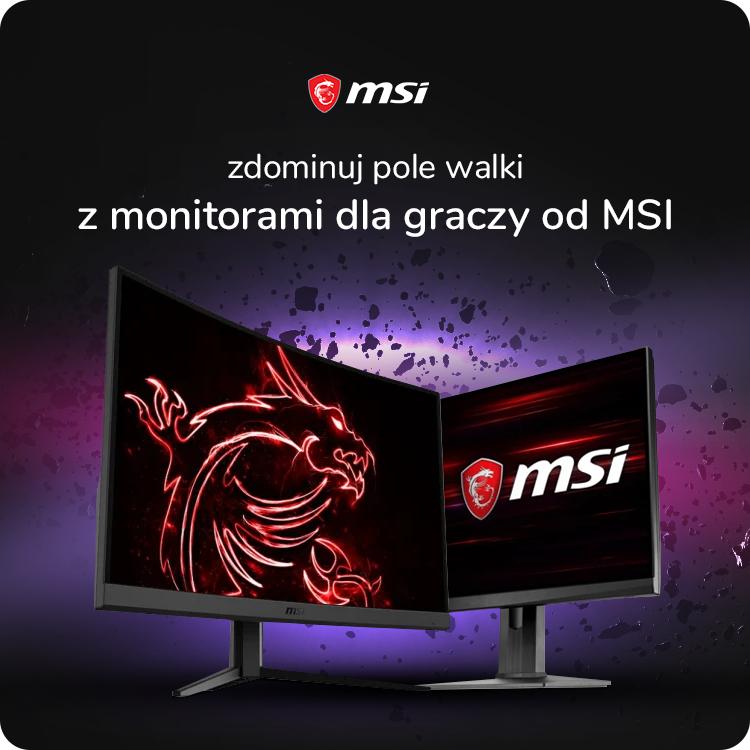 monitory msi dla graczy w ofercie x-kom
