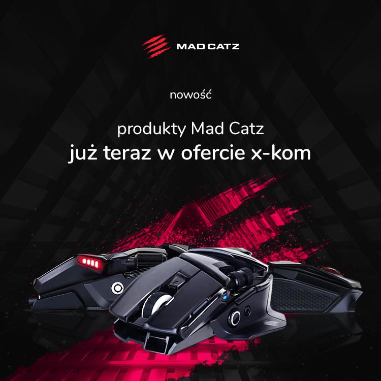 Akcesoria Mad Catz z podkładką gratis