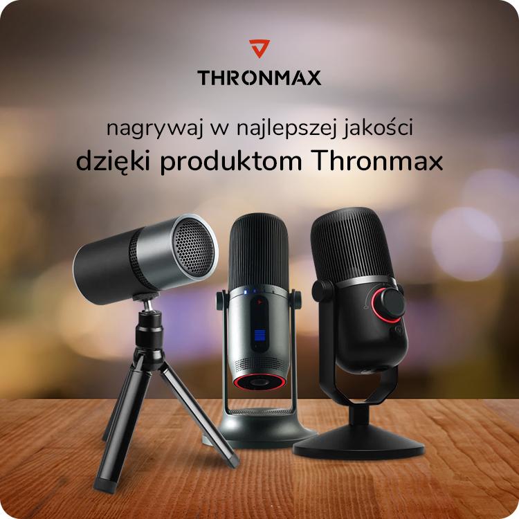 mikrofony Thronmax w x-kom