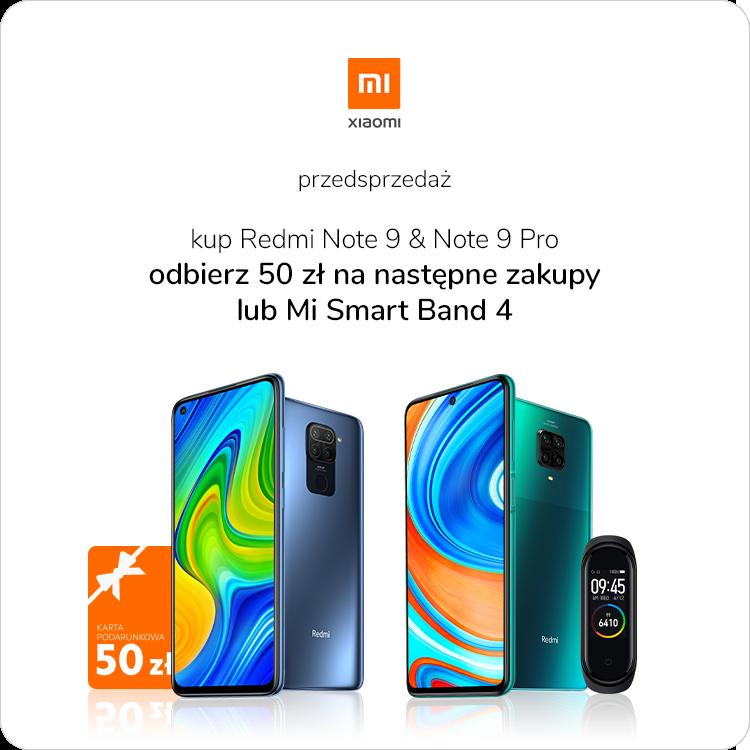 Przedsprzedaż Xiaomi Redmi Note 9 i 9 Pro