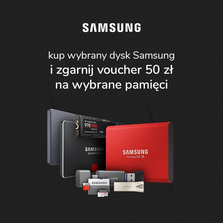 Dyski SSD Samsung promocja