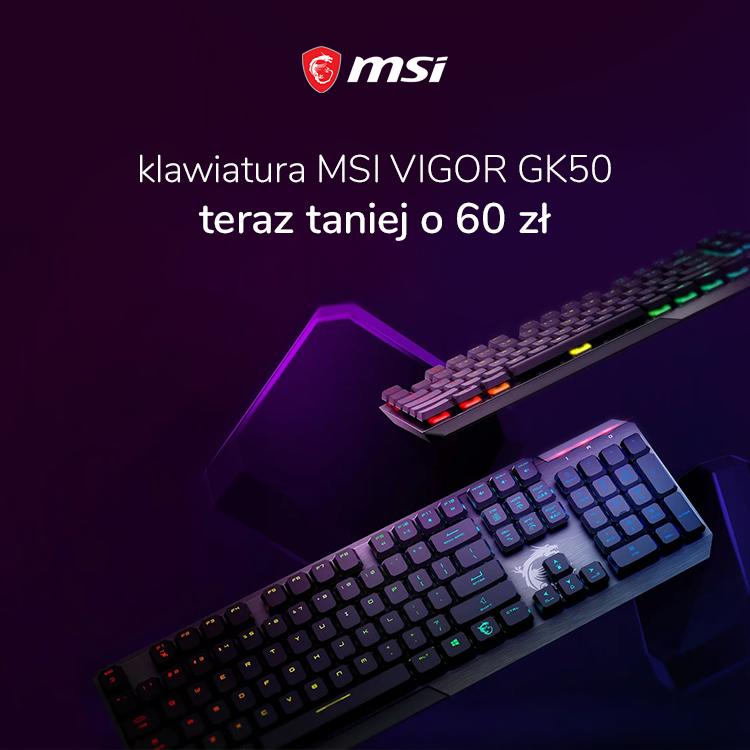 MSI Vigor GK50 w x-kom taniej o 60 zł